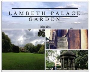 Lambeth Palace Garden: A Unique Biew of London